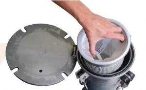 Kolumna filtracyjna FRB z workiem filtrującym